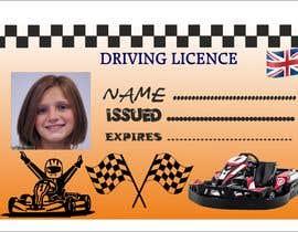 #15 para Children's Drivers licence por Guitaadrian