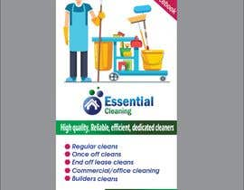 #32 for DL size flyer for home cleaning business by shabberahmed
