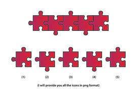 #18 for Graphic Design of Puzzle Pieces by ArbazAnsari