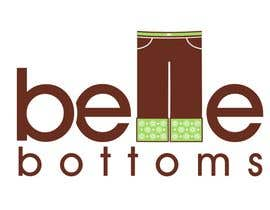janinie tarafından Logo Design for belle bottoms iron-on pant cuffs için no 265