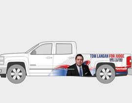 Nro 1 kilpailuun Partial patriotic truck Wrap käyttäjältä ydantonio