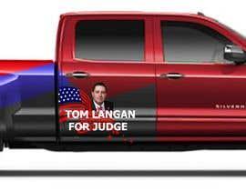 Nro 4 kilpailuun Partial patriotic truck Wrap käyttäjältä shabberahmed