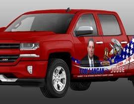 Nro 16 kilpailuun Partial patriotic truck Wrap käyttäjältä jbktouch