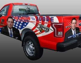 Nro 17 kilpailuun Partial patriotic truck Wrap käyttäjältä jbktouch