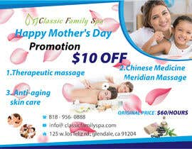 #19 for Design a Mothers day Promotional Banner for a spa by SHEIKHTAYIBA