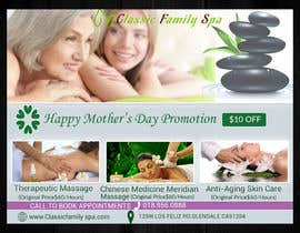 #26 for Design a Mothers day Promotional Banner for a spa by asma467