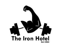 Nro 9 kilpailuun The logo is for a fake gym:  The Iron Hotel Bondi Australia  Est1964  Inspo  - Golds Gym - Muscle beach (Venice beach, CA) - Globo Gym (dodgeball) - 1980s Miami Vice   To be printed on tshirts and a big poster käyttäjältä ibnerabbe