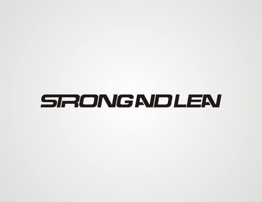 Конкурсная заявка №113 для Logo Design for Strong and Lean