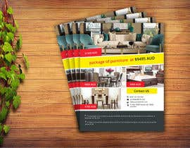 #20 untuk Create a flyer for furniture package oleh nazmulhuda1144