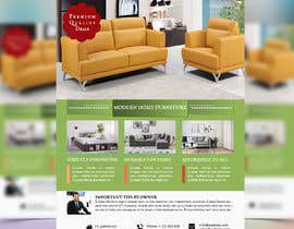 #30 untuk Create a flyer for furniture package oleh nazmulhuda1144