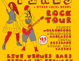 #7 for Poster Design for Rock Tour by stt2design