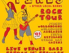 Nro 7 kilpailuun Poster Design for Rock Tour käyttäjältä stt2design