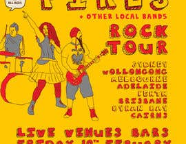 nº 8 pour Poster Design for Rock Tour par stt2design