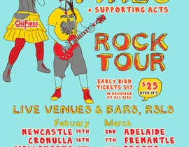 #12 for Poster Design for Rock Tour af stt2design