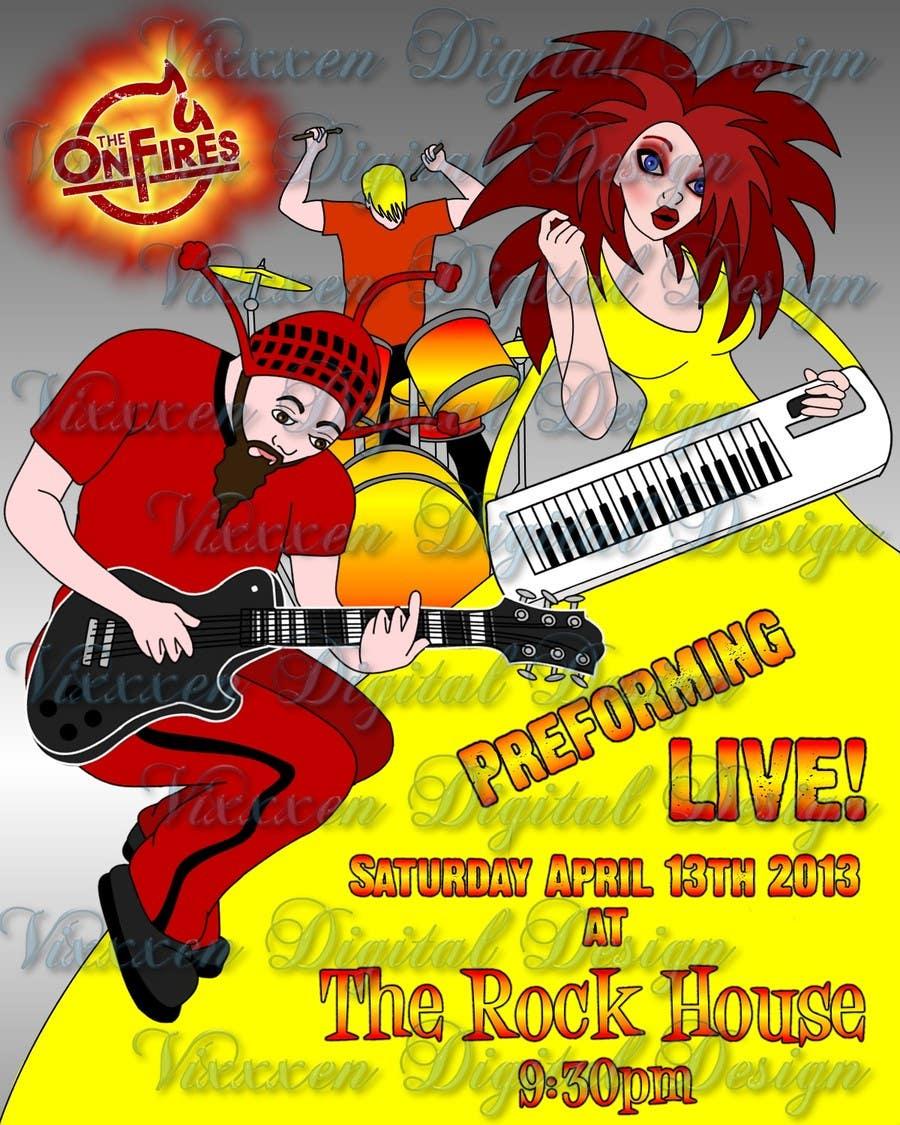 Konkurrenceindlæg #20 for Poster Design for Rock Tour