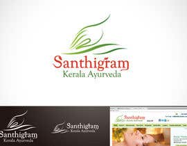#55 для Logo Design for Santhigram Kerala Ayurveda от Mackenshin