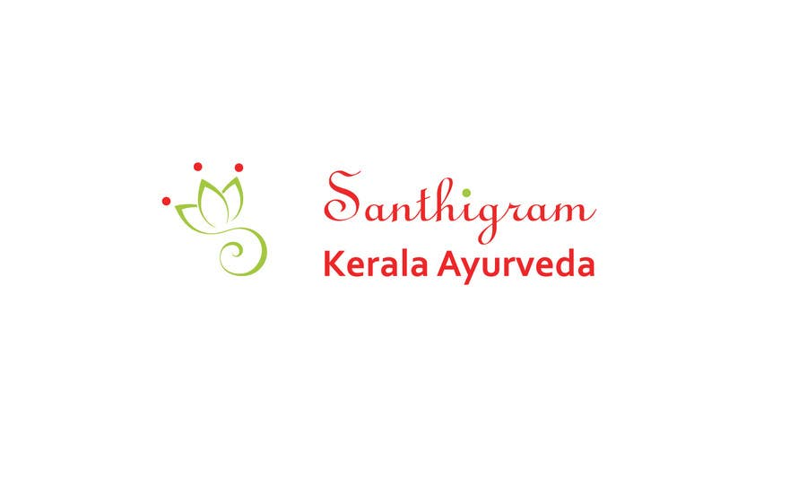 Конкурсная заявка №47 для Logo Design for Santhigram Kerala Ayurveda
