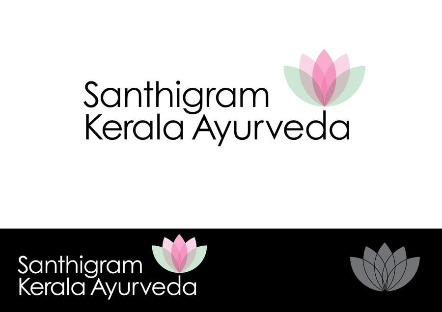 Конкурсная заявка №49 для Logo Design for Santhigram Kerala Ayurveda