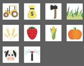 #8 для Set of 10 Icons for Farm Mobile Game от manuelameurer