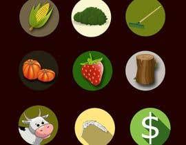 #1 для Set of 10 Icons for Farm Mobile Game от aprana2009