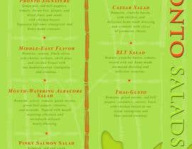 #5 untuk I need some Graphic Design for a menu oleh Tinchy087