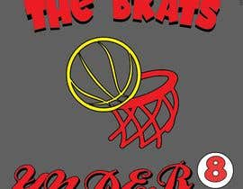 "#19 for I need a logo designed. Kids basketball team under 8years  called ""The Brats""   Something that can go across the shoulders on the back of a tshirt by mmimkt"
