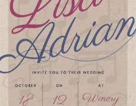 Nro 12 kilpailuun Wedding Invite käyttäjältä LaGogga