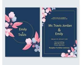 #37 for Design my wedding invitation by creativefolders