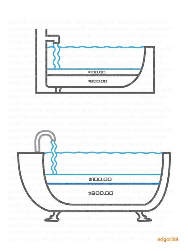 Contest Entry #18 For Illustrate A Cut Away View Of A Bathtub For A