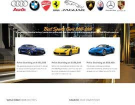 #36 for Exotic Car Sales Website by ronswebdesign