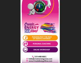 #20 for Create Design for Stand up Banner  33 x 77 inch Print af d3stin