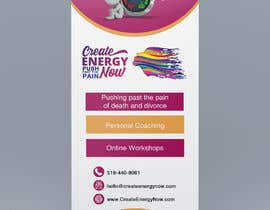 #6 for Create Design for Stand up Banner  33 x 77 inch Print af IJay21