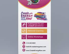 #8 for Create Design for Stand up Banner  33 x 77 inch Print af IJay21