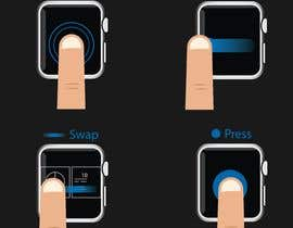 #6 cho Graphic images for touch interaction on a smartwatch bởi nashadms18