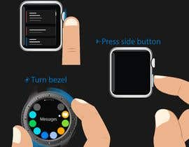 #16 cho Graphic images for touch interaction on a smartwatch bởi nashadms18