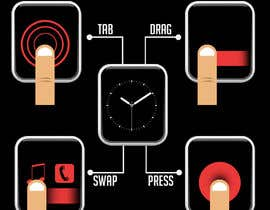 #13 cho Graphic images for touch interaction on a smartwatch bởi iamrohitc