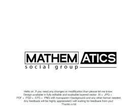 #240 for Mathematics Social Group Logo Design by saba71722