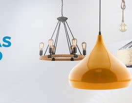 #13 untuk Diseñar un banner para slider imágenes lámparas oleh madartboard