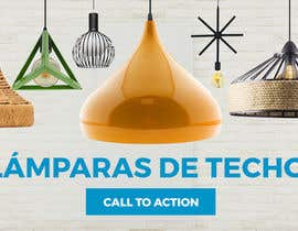 #17 untuk Diseñar un banner para slider imágenes lámparas oleh madartboard
