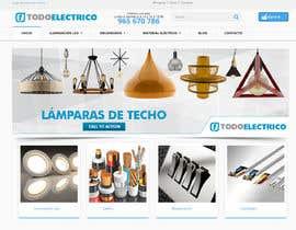 #21 untuk Diseñar un banner para slider imágenes lámparas oleh savitamane212