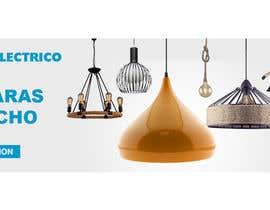 #19 untuk Diseñar un banner para slider imágenes lámparas oleh helalahmed9