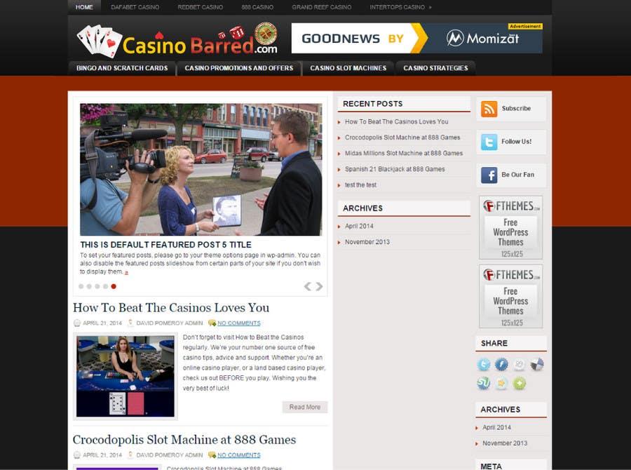 Penyertaan Peraduan #                                        20                                      untuk                                         Design a Logo for casinobarred.com