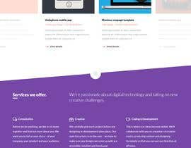 nº 10 pour Wordpress template based building a website - 15/05/2018 16:07 EDT par Bulbul50