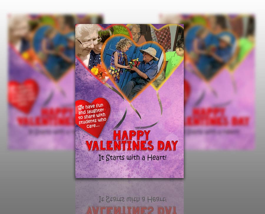 Entry 13 By Subzeromenon For Design A Flyer For Valentine S Day