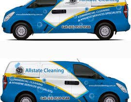 #16 for Van design and matching brochure design for a Cleaning Company by ravi05july