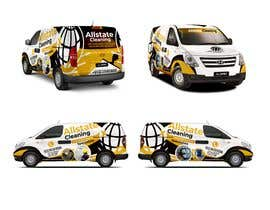 #19 for Van design and matching brochure design for a Cleaning Company by jamegroz