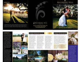 unidot tarafından Graphic Design for MARKETING BROCHURE -Blueberry Hill Estate- Wedding Specific -Media Kit for print için no 58
