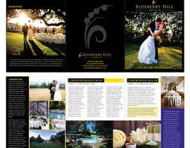 #39 cho Graphic Design for MARKETING BROCHURE -Blueberry Hill Estate- Wedding Specific -Media Kit for print bởi unidot
