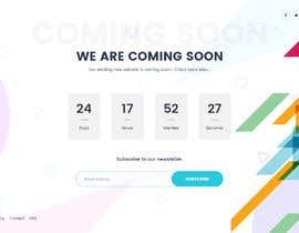 Nro 27 kilpailuun Coming Soon Landing Page käyttäjältä minhajulfaruquee