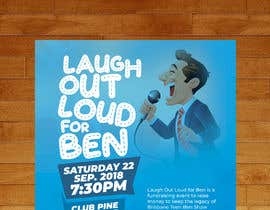 #58 for Fundraiser Flyer - Laugh Out Loud for Ben - or - LOL for Ben by murugeshdecign